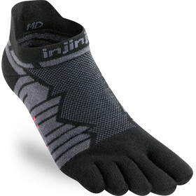Injinji Ultra Run No-Show Socks Herren onyx